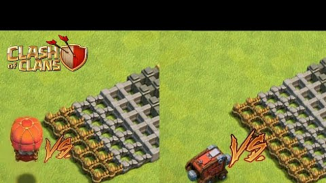 Max Stone Slammer vs Wall Wrecker! Which will win? (Clash of Clans)