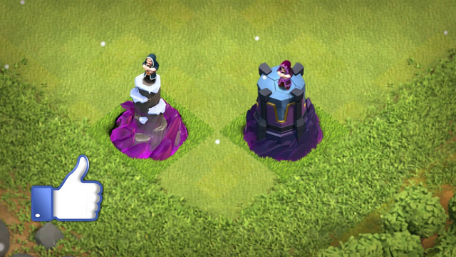 Clash of clans Wizard Tower Evolution lvl 1 to Max