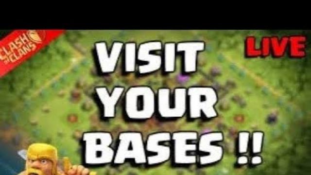 COC live base * REVIEWS * || lets visit YOUR bases!!!!