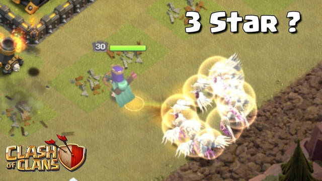 Impossible Challenge | 3 star with 15 healers in war ? - Clash of clans