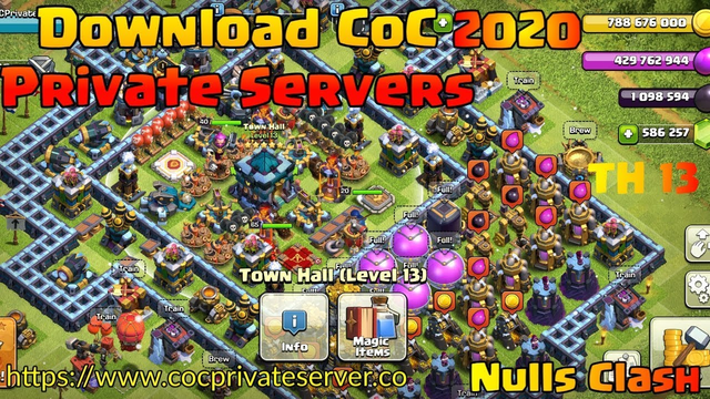 Download Clash Of Clans Private Server 2020 FHX ft. Nulls Clash