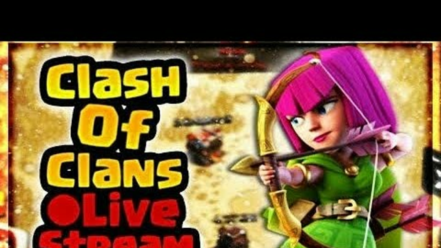 Clash Of Clans Livestream Testing.