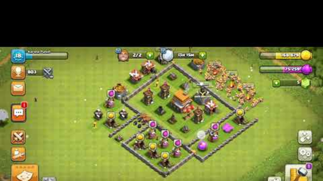 Who can beat my village in clash of clans?