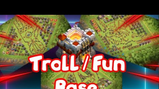 10 VILLAGE TROLL / FUN ! COPY LINKS IN DESC | Clash of Clans