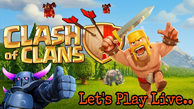 Let's Play Clash of Clans Live | Sunday Stream