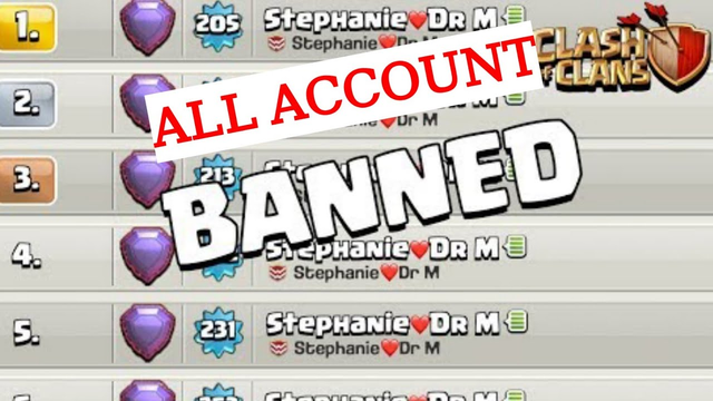 WHY SUPERCELL BANNED DR. MUJTABA'S ALL ACCOUNTS || Clash of Clans - COC 2k20