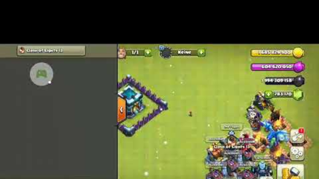 Townhall 13 vs all Max troops Clash of clans