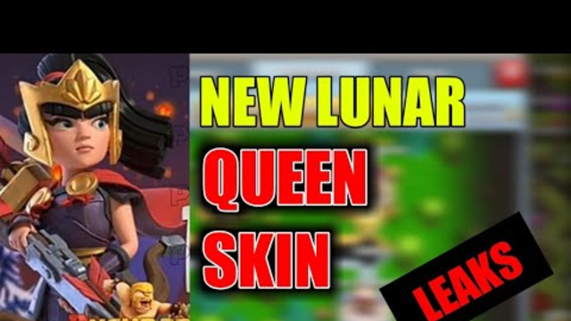 Clash of clans new lunar Queen skin || Febraury skin 2020|| clash of clans update leaks.