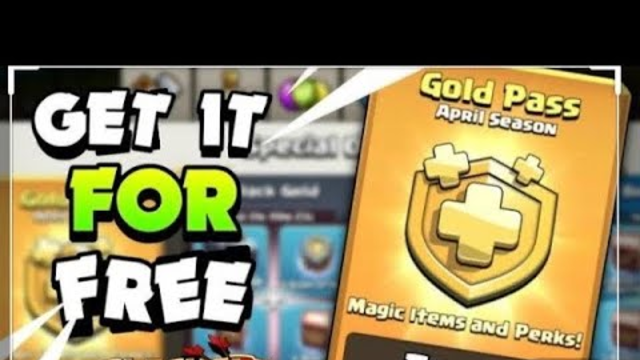 HOW TO GET GOLDEN PASS FREE IN COC .. 20 GOLDEN PASS GIVEAWA #coctech4ideas #coc20gp