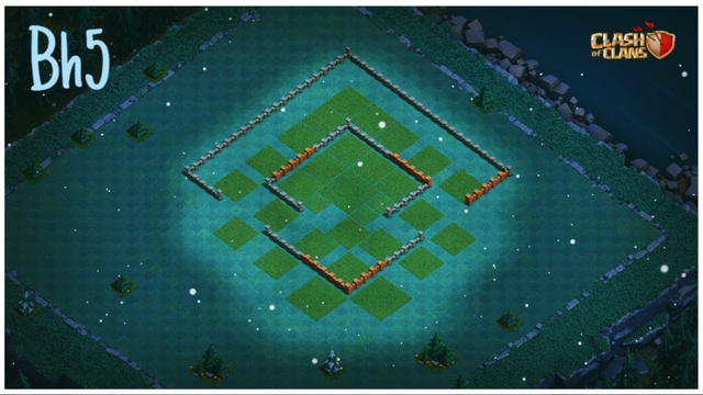 Aldea Anti 3 Estrellas - Base del Constructor 5/BH5 con LINK- Clash of Clans