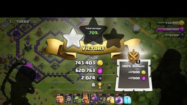 DE Attack Strat! Clash of Clans