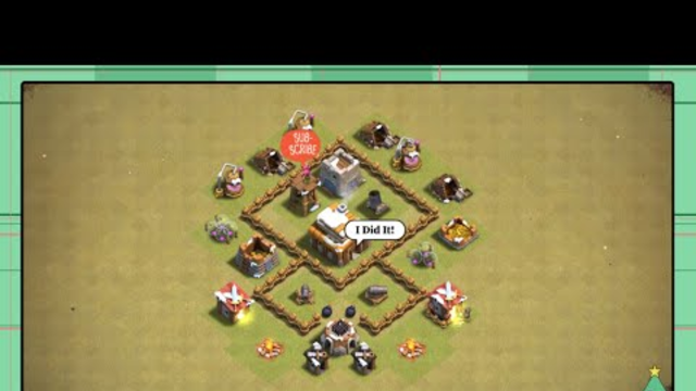 Free to use th3 base in clash of clans