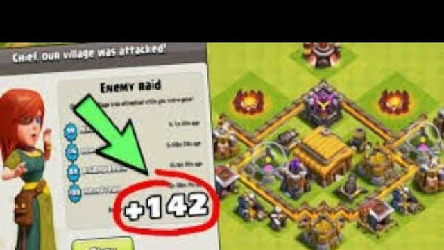 Townhall 3 in Gold?  COC Gameplay #1