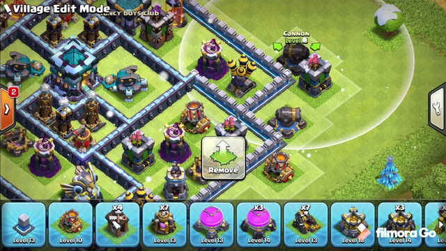 Clash of clans Th 13 anti 2 star base + REPLAYS