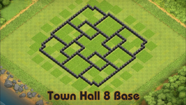 Clash Of Clans - Town Hall 8 Base
